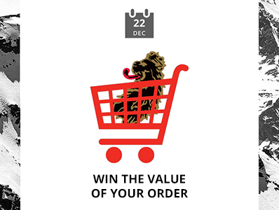 Win the value of your order