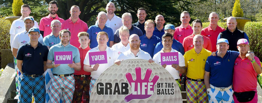 John Hartson Know Your Balls Golf Day