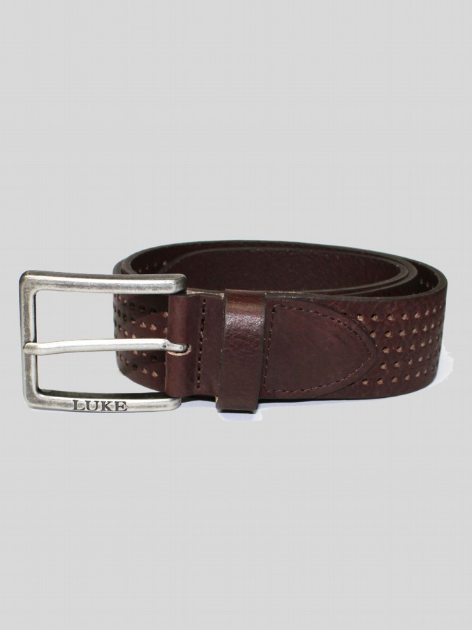 CARL B PERF BELT SHAPED HALF BUCKLE