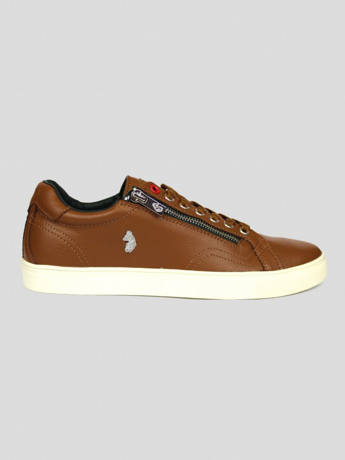 luke 1977 mens designer footwear hill tennis trainers tan