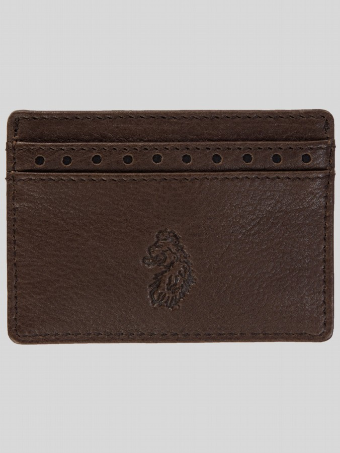 Luke 1977 Accessories men's Ben B leather card holder brown