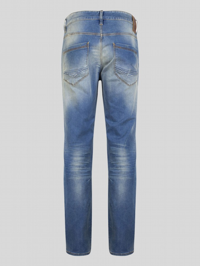Luke 1977 mens designer denim jeans freddyfit straight fit