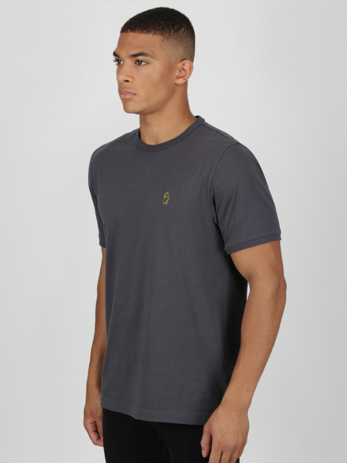 luke 1977 mens designer sport grey t-shirt