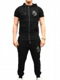 Henrix Luke Sport Hodded Tank Gym Attire