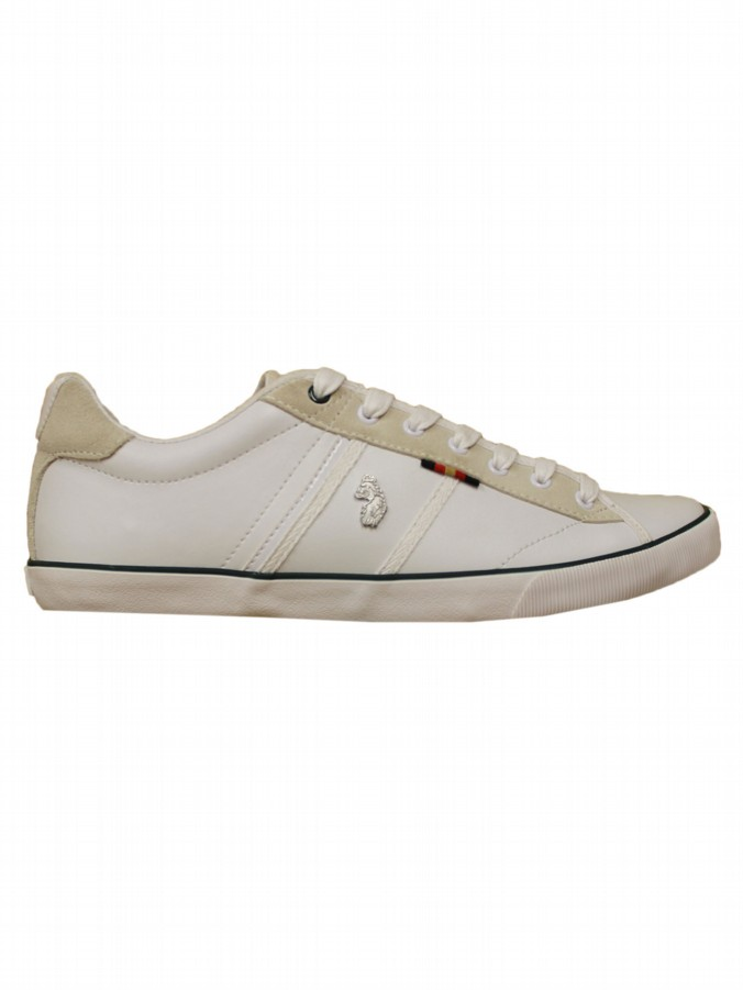luke 1977 mens designer slim jack white trainers