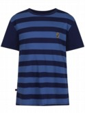 luke 1977 kids designer clothing junior clothing navy breton stripe tshirt