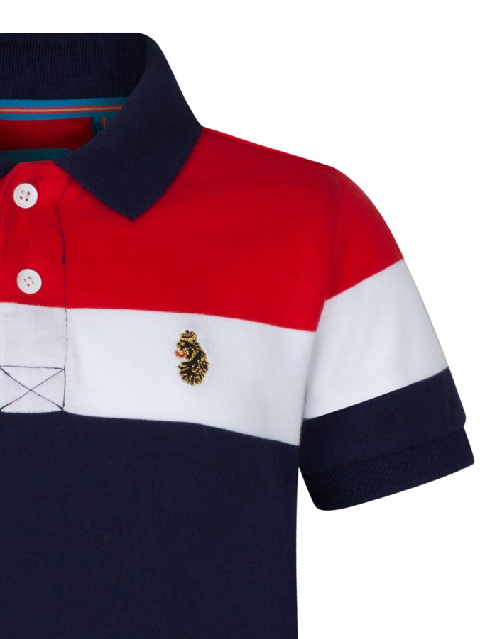 luke 1977 kids designer clothing junior luke navy polo shirt