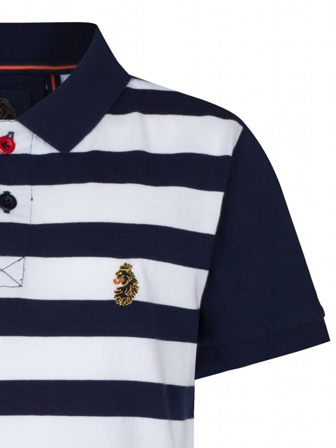 luke 1977 little luke designer kidswear striped polo shirt