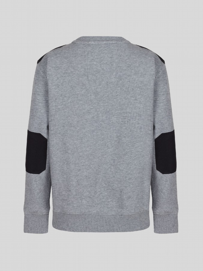 little luke kids designer grey sweater