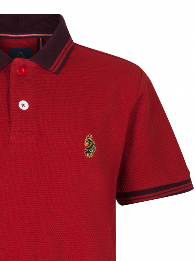 luke 1977 kids designer clothing little luke b boy red polo shirt