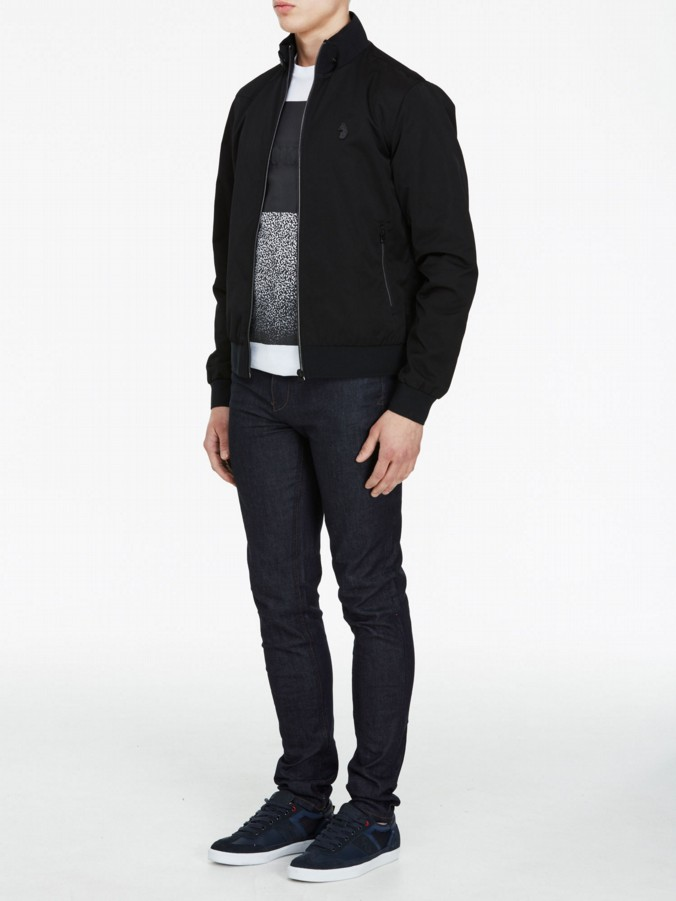 luke 1977 mens designer fluff nut 2 black jacket