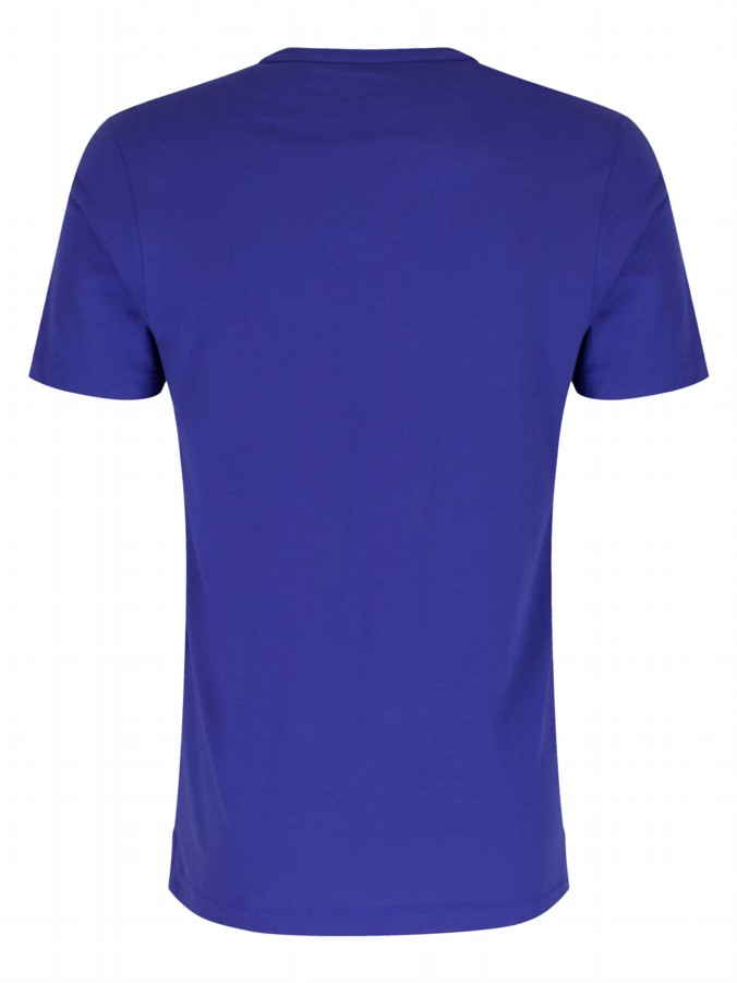 luke 1977 mens designer new charmer lux royal blue tshirt