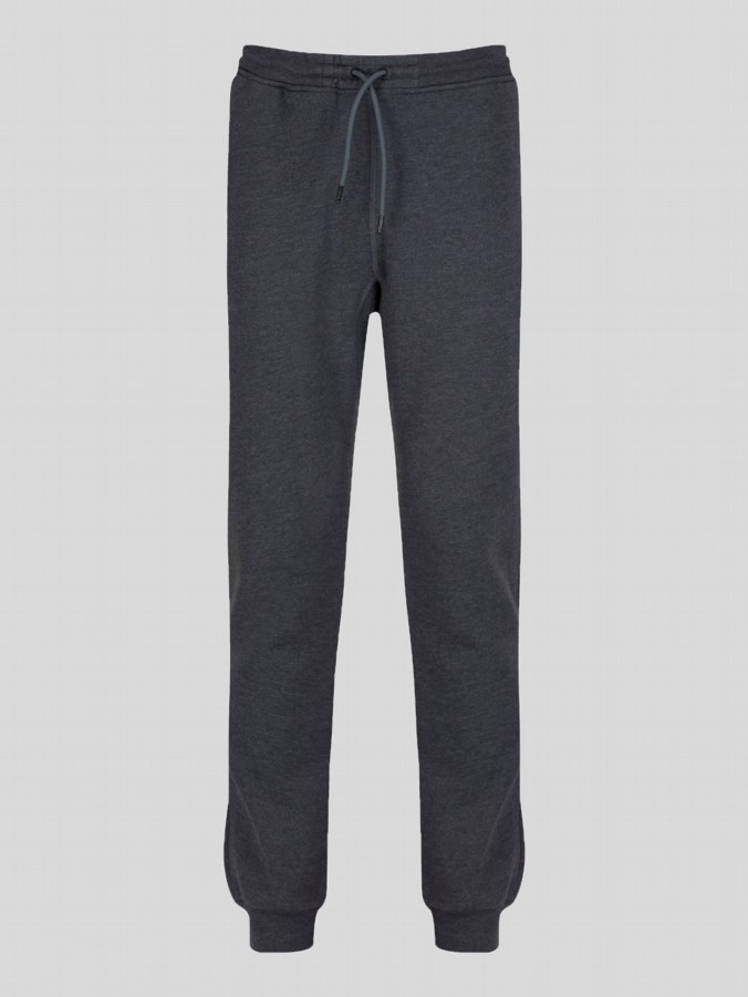 luke 1977 mens designer charcoal grey joggers
