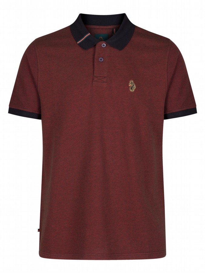 luke 1977 sport mens designer brahmers shiraz polo shirt