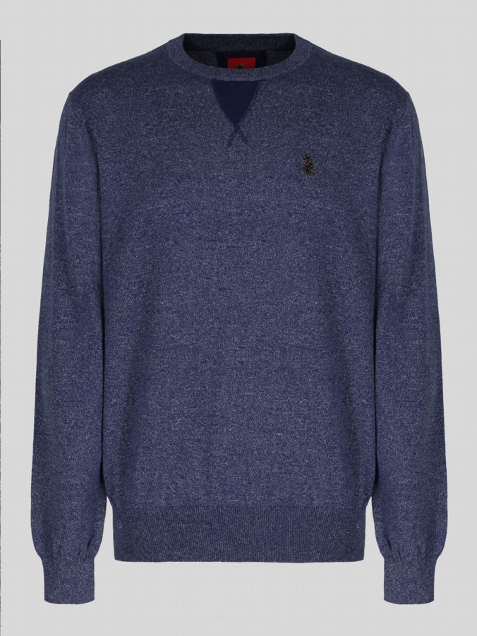 luke 1977 mens designer lux navy sweatshirt