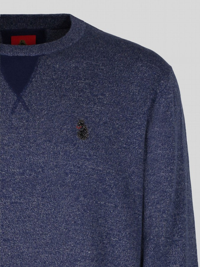 luke 1977 mens designer lux navy sweatshir