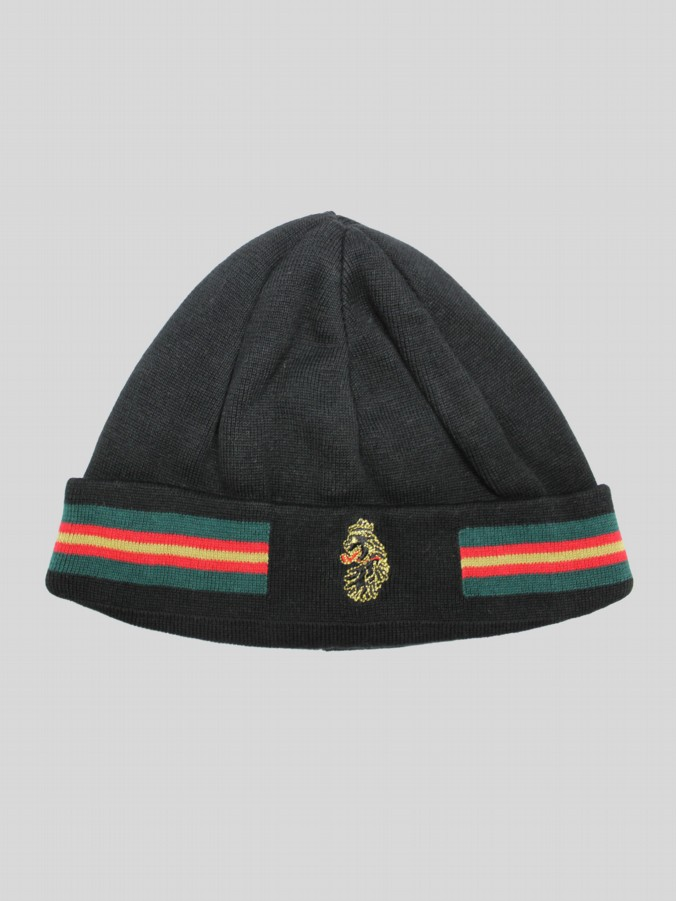 luke 1977 mens designer delta luke sport black knitted hat