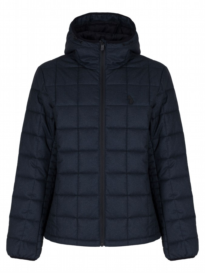 luke 1977 mens designer northsouthdivide charcoal padded jacket