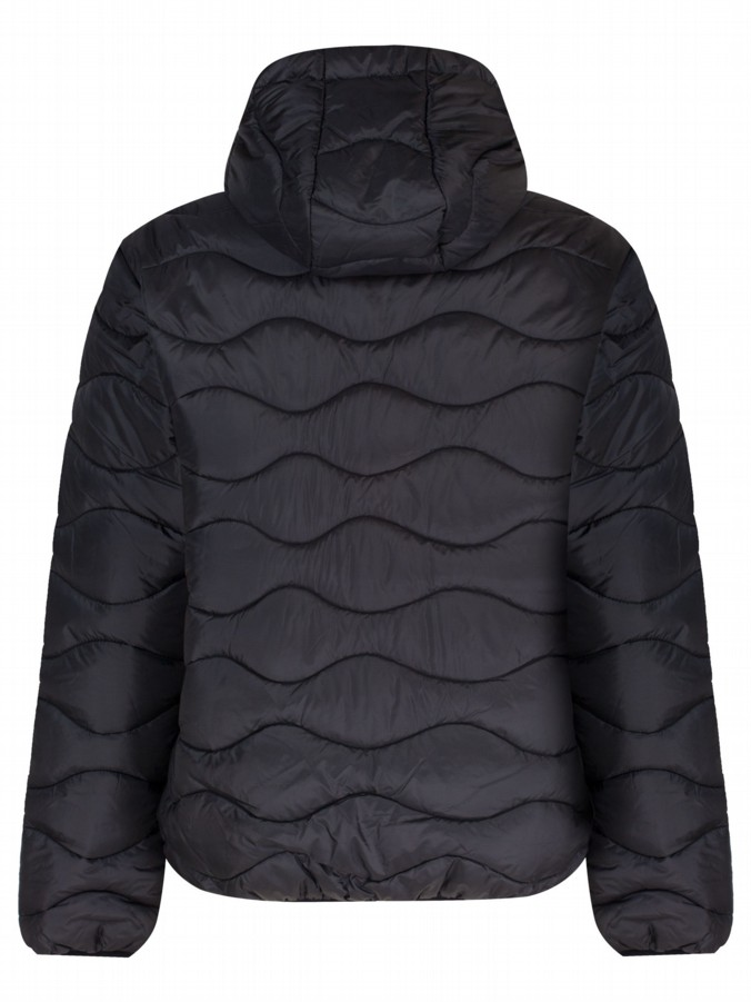 luke 1977 sport mens designer black padded quilt jacket