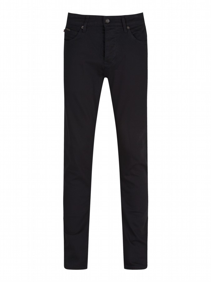 luke 1977 mens designer overdyed black vacuum skinny chinos