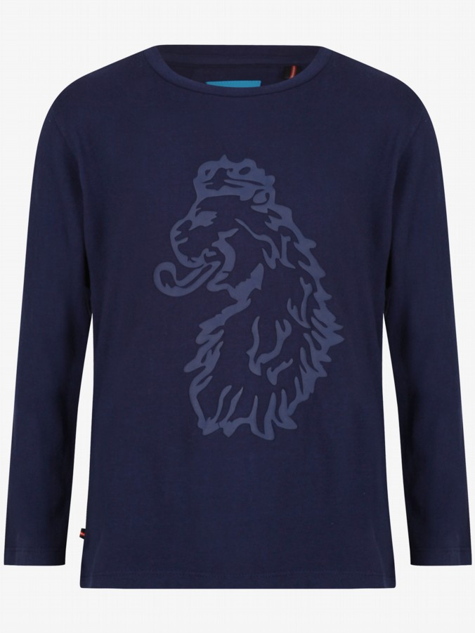 luke 1977 luke junior designer kids clothing navy long sleeve tshirt