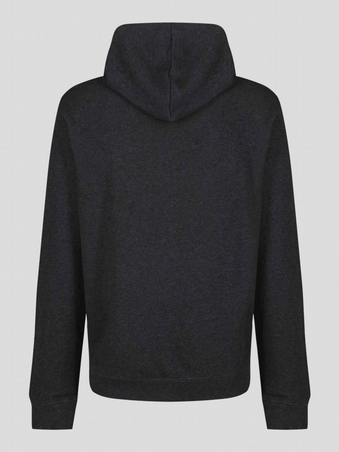 luke 1977 mens designer clothing marle charcoal zip up hoodie sweatshirt tracksuit