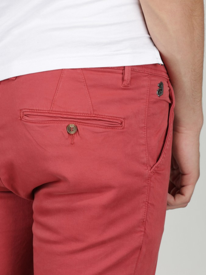 luke 1977 mens designer raspberry chinos