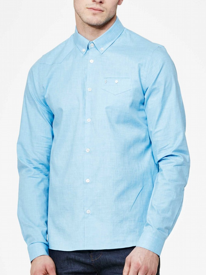 luke 1977 mens designer sky flannel shirt