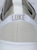 luke 1977 mens designer light grey slickers trainers