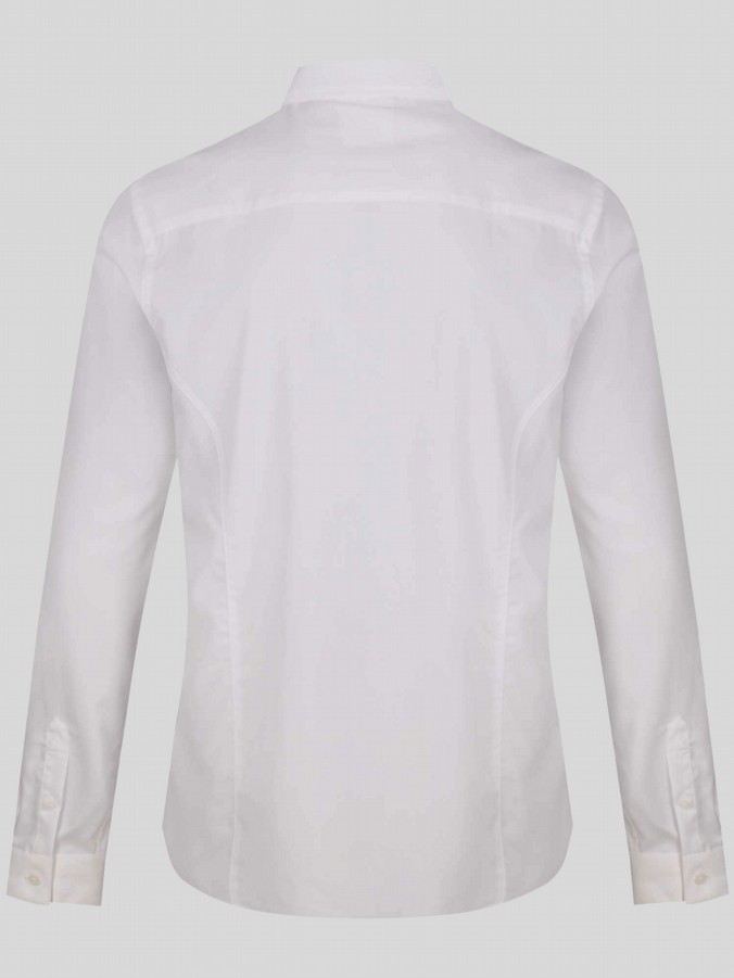 luke 1977 mens designer hardnut nickle white long sleeve shirt