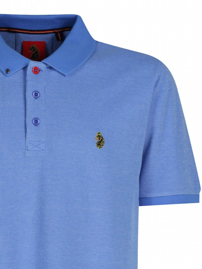luke 1977 mens designer lux sky polo shirt