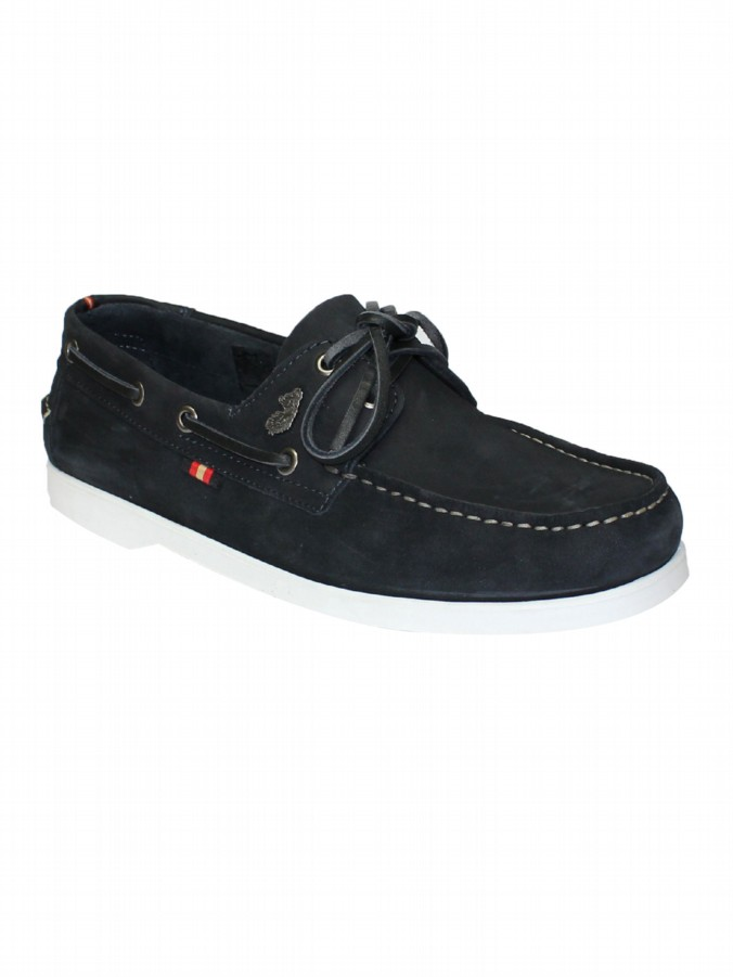 luke 1977 mens designer navy boat shoes