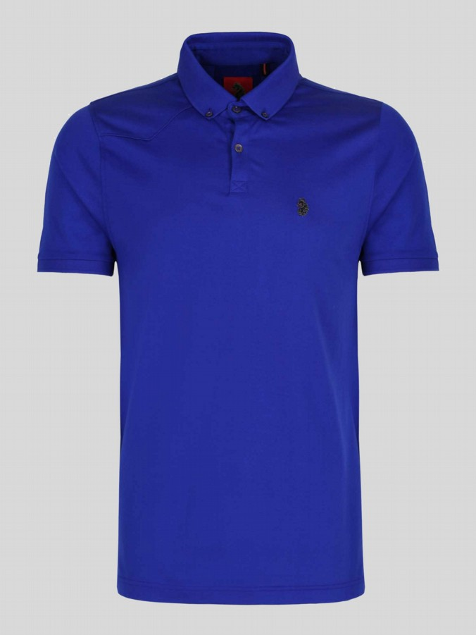 luke 1977 designer clothes for men lux royal polo shirt