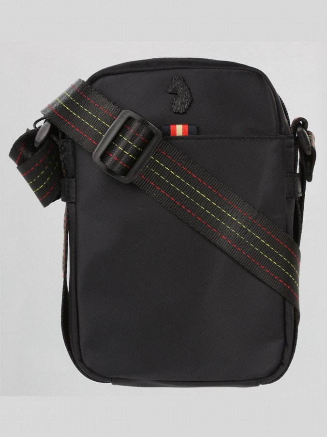 luke 1977 mens designer Black cross body bag