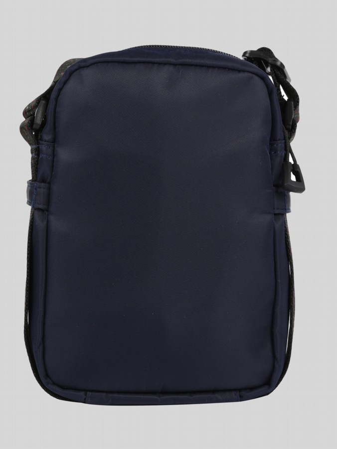 luke 1977 mens designer navy cross body festival bag