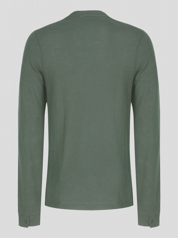 luke 1977 mens designer lux moss yat long sleeve top