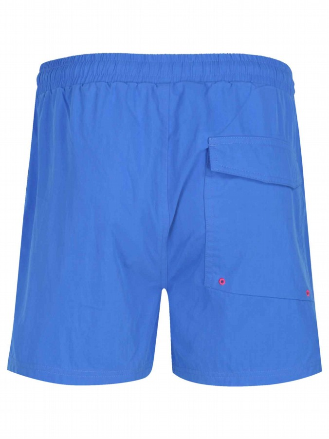 luke 1977 mens designer high cagy lux pink swimming shorts