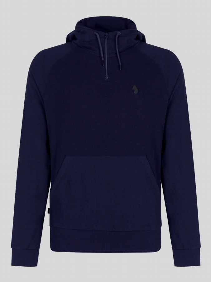 luke 1977 mens designer midnight blue hoodie