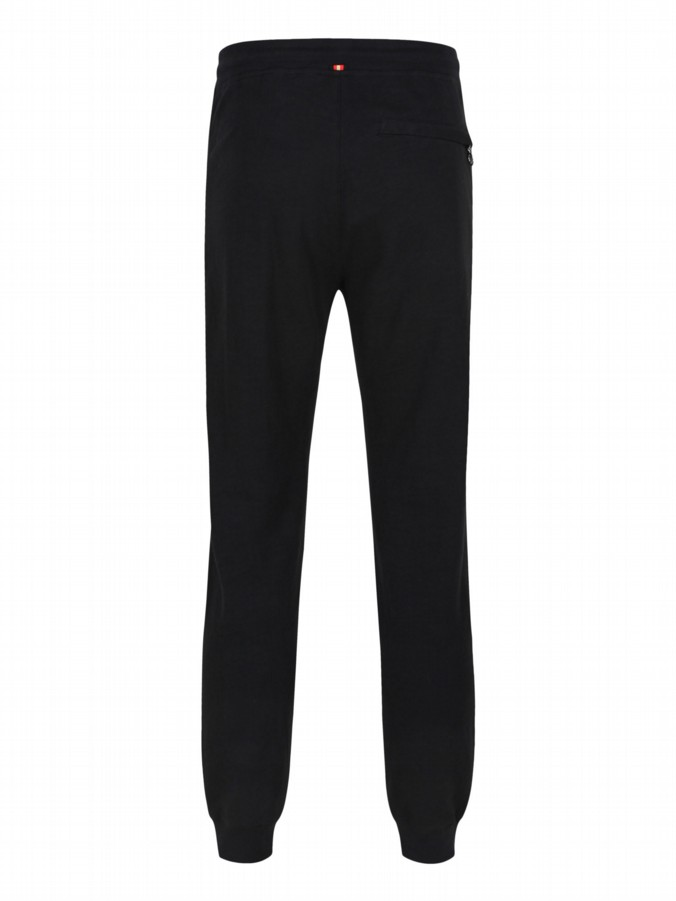 luke 1977 mens designer black slim fit jogging bottoms