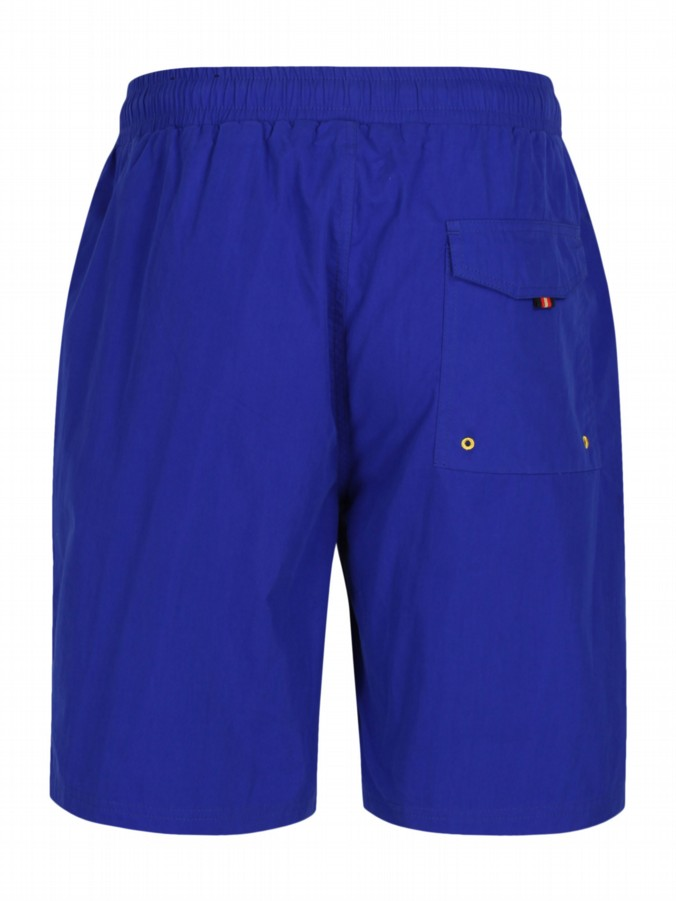 luke 1977 mens designer lux royal blue swimming shorts