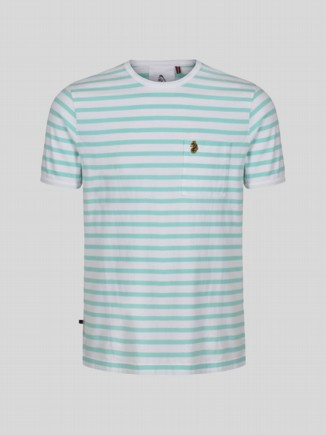 TROUS STRIPE KIDS Aqua