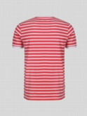 little luke kids designer coral striped tshirt