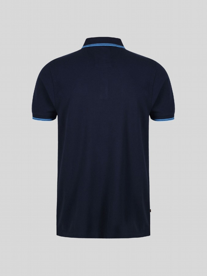 little like kids designer navy polo shirt