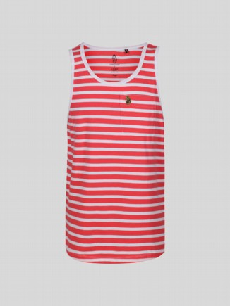TROUS STRI VEST JUNIOR CORAL