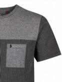 luke 1977 mens designer stan lad stripe black grey tshirt