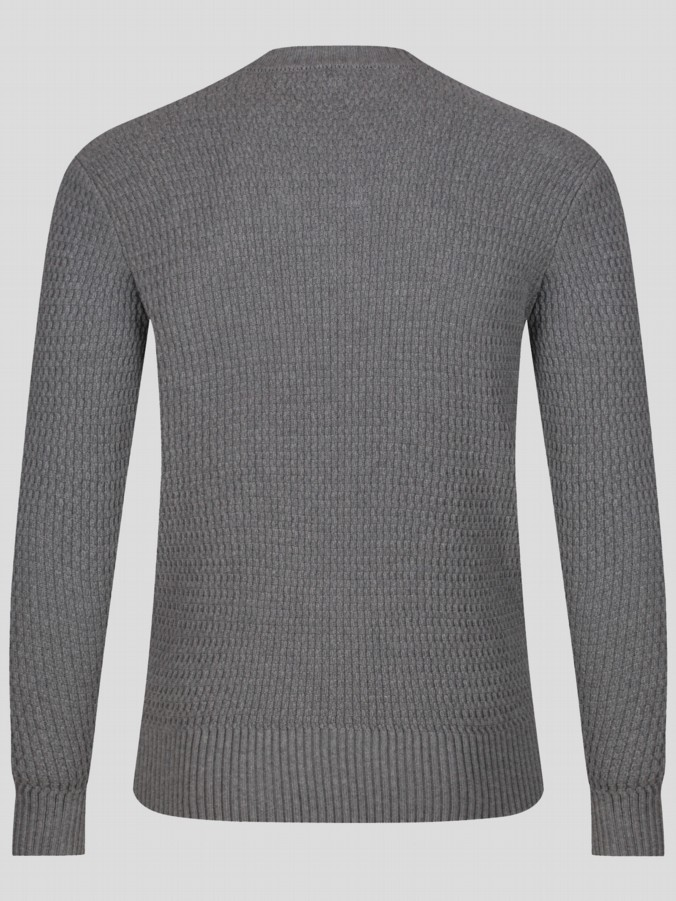 luke 1977 menswear designer knitwear mens jumper long sleeve crew neck