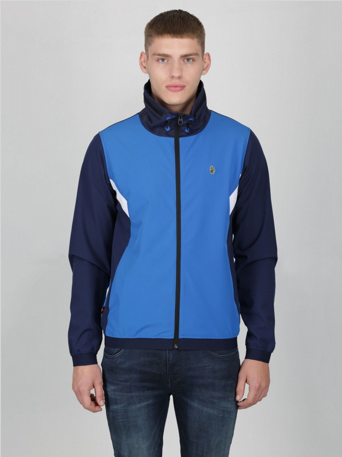 AINSLIE LUKE SPORT ZIP THROUGH HOODED JACKET