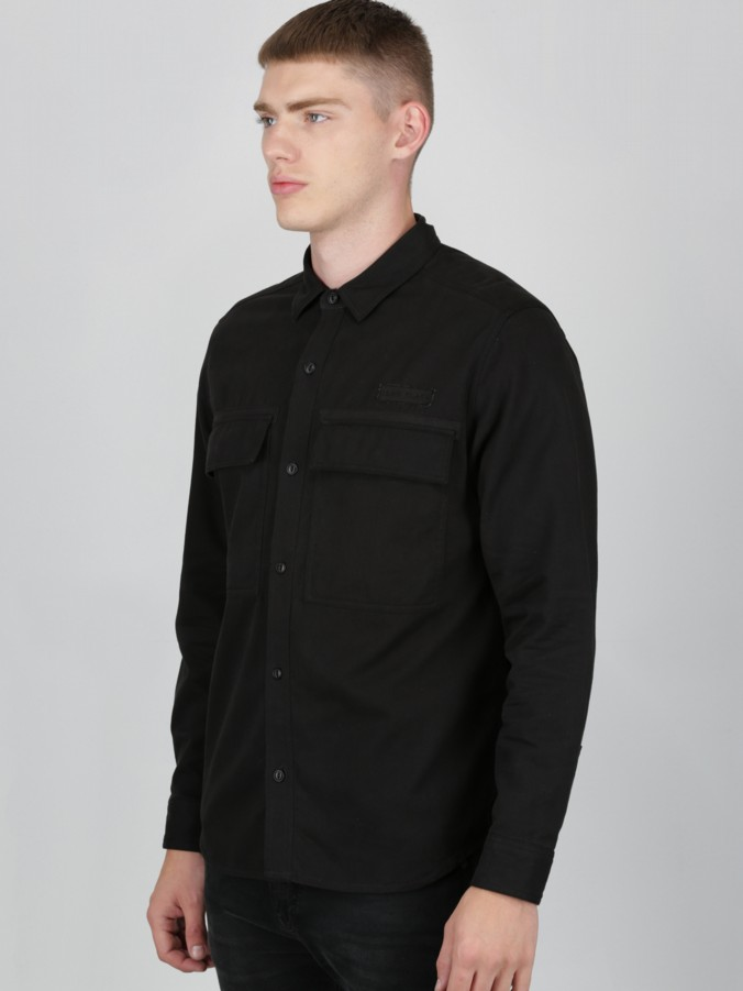 Luke Black Luke 1977 menswear designer shacket shirt jacket