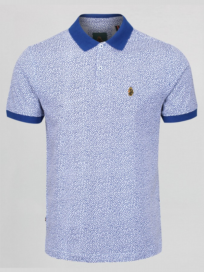 HERBAL PAINT PLATTER PRINTED POLO