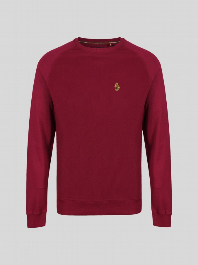 Guy Luke Junior basic crew sweat